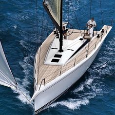 To celebrate its 50th Anniversary Nautor's Swan is rolling out a sleek looking ClubSwan 50 one-design raceboat. The line drawings digital renderings and specs showcase a winner. regram from @nautorswan_official #clubswan #sailboat #sailing #raceboat #boatlife #onedesign by john.a.glynn