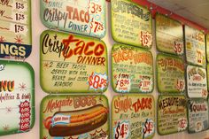 The most colorful menu in all of #Houston! #GoodeCompany #Taqueria