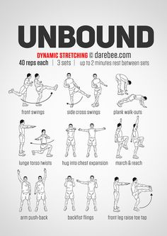 Unbound Workout: Dynamic Stretching Yoga Fitness - http://amzn.to/2hmQneS