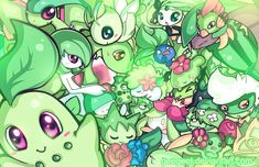 Green Party by Geegeet.deviantart.com on @DeviantArt