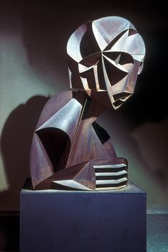 Mid 20th c. Naum Gabo, 'Constructivist Head'