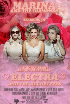 Fanmade Electra Heart poster