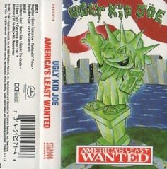 America's Least Wanted by Ugly Kid Joe (Cassette, Stardog Records) Ugly Kid Joe, Mad Men, Being Ugly, Jun, America, Pictures, Ebay, Photos, Usa