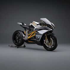 Mission Motorcycles R all-electric limited edition sportbike... Electric motorcycle! If I didn't see it in person I wouldn't believe it.....