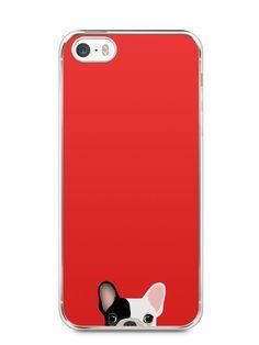 Capa Iphone 5/S Cachorro Bulldog Francês #2 - SmartCases - Acessórios para celulares e tablets :)