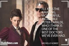 "Peter Capaldi Tributes - Michelle Gomez | THE best and hottest, too.  I have always preferred the Fourth and Fifth to these new Doctors, who I liked but didn't love (except maybe Eccleston), but Capaldi really made the newer, ""cooler"" and ""hotter"" Doctor idea real for me.  No one will ever be a better Doctor, not even a woman.  (And honestly, the Master did it first and better.  No one can be better than Michelle Gomez.)"