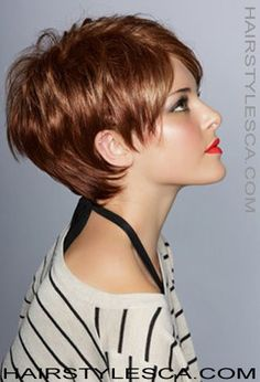 Really Cute Short Haircuts 2013 - Color,,