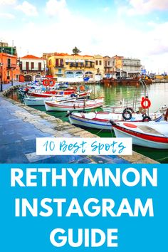 The 10 Most Instagrammable Places in Rethymnon, Crete  Looking for the best Instagram spots in Rethymnon, Crete? Here are our favorites, from how to best photograph Rimondi Fountain the the Egyptian Lighthouse, to hidden gems and secret staircases.   #crete #rethymnon #rethymno #cretetravel Santorini, Rethymnon Crete, Crete Beaches, Places To Travel, Places To Visit, Crete Greece, Mykonos Greece, Athens Greece, Family Destinations