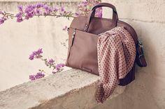 #esprit #bags #scarves #accessorizeit #berrygood #softtones