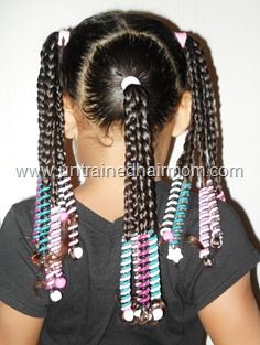 Hairstyle Using Sidewinder Accessories