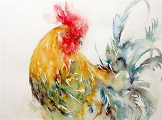 """Dazzler the Rooster"" © Arti Chauhan"