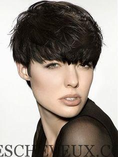 24 coiffures courtes Mignon (avec Bangs)