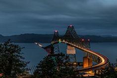 Travel Boots, Astoria Oregon, Tower Bridge, Campsite, Golden Gate Bridge, Adventure Travel, Seaside, How To Find Out, Vacations