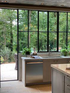 Kitchen Sink Window Decor Interior Design New Ideas Küchen Design, House Design, Interior Design, House Window Design, Modern Interior, Design Ideas, Home Decor Kitchen, New Kitchen, Kitchen Ideas