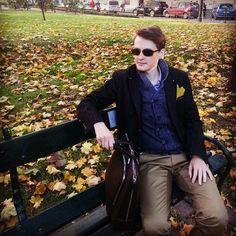 Men Fashion #men #fashion #boy #model #top #topmodel #krakow #autumn #leaf