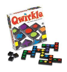 Qwirkle is a great game for individual's with Alzheimers - easy to handle, visually stimulating, strategy, matching, and so much more!