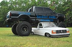 Talk about ups and downs! (Image detail for -Slamfest Custom Truck Show Lifted Ford F250 Photo 20)