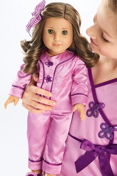 Rebecca's Satin Pajamas & Satin Pajamas for Girl