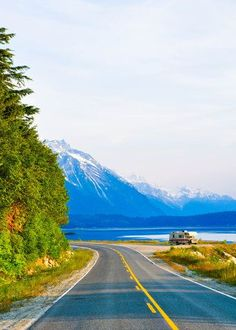 Exploring the Alaskan outdoors in a RV. That would be a cool way to road trip Alaska.
