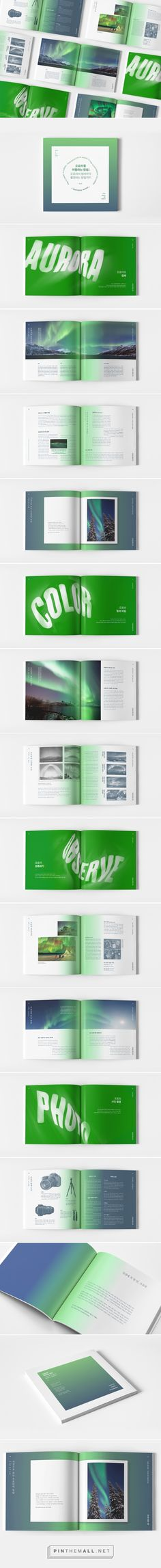 How to travel to Aurora : Guide Book - Editorial Design on Behance - created via https://pinthemall.net
