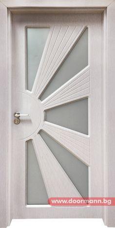 Интериорна врата Gama 204, цвят Перла