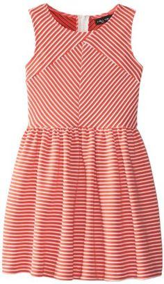 55379b9f546 Ruby Rox Big Girls  Textured Knit Fit and Flare Dress