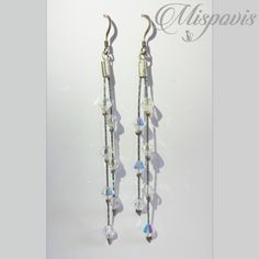 Personalized Items, Beautiful, Beading, Polymer Clay Creations, Beautiful Things, Ear Jewelry, Bangle Bracelets
