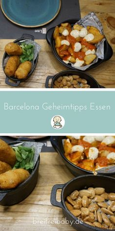 Barcelona Geheimtipps Essen – empfehlenswerte Restaurants Barcelona Travel Tips German – Holiday with Baby in Barcelona – our insider tips for the best food and the best trip to Barcelona. # travel tips # vacation … Tapas, Barcelona Restaurants, Barcelona Travel, Barcelona Food, Travel Tags, Christmas Cooking, Restaurant Recipes, Diana Gabaldon, Travel Tips