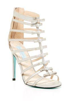 Tie High Heel Sandal by Betsey Johnson on @nordstrom_rack