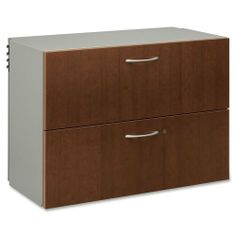 """Hon 2 Drawer Lateral File, 36 by 18 by 25-1/2-Inch, Brown by Hon. $289.74. Easily install with columns and brackets using a patented snap-and-lock connection. Vicinity Disking provides the flexibility to create a personalized work environment through integration with storage. Storage components and work surfaces are adjustable in 1-1/8"""" increments. Vicinity Disking provides the flexibility to create a personalized work environment through integration with storage. S..."""