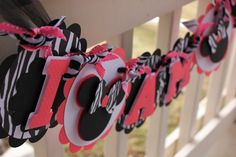 Minnie Mouse I AM 1 High Chair Banner in Hot Pink by ekcscrapping, $16.00