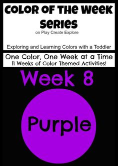 Play Create Explore: Color of the Week: Purple