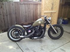 Honda VT600 Shadow bobber