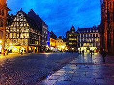 Strasbourg-France Alsace Lorraine Travel #strasbourg