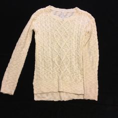 Cozy knit sweater NOT FINAL PRICE // 18 inch pit to pit // 24 sleeve Aeropostale Sweaters
