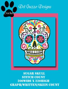 (4) Name: 'Crocheting : Sugar Skull 200x220