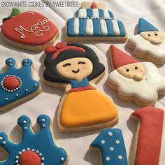 Snowwhite cookies -Branca de neve