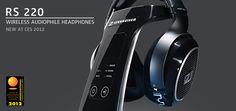 RS 220 Wireless Audiophile Headphones