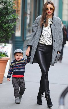Trend: Menswear. Celebrity Inspiration: Miranda Kerr. Find out how you can get this looks for less! #Fall #Fashions