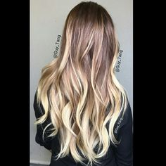 High contrast #balayage #ombre by Guy Tang