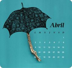 Calendar 2012 by jose llopis, via Behance