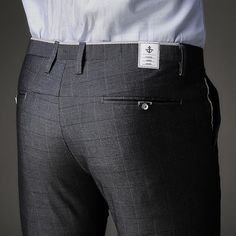 Gender: Men Item Type: Suit Pants Front Style: Flat Style: Smart Casual Brand Name: Jbersee Pant Closure Type: Zipper Fly Model Number: Material: Cotton Men's Pant Suits, Mens Suits, Suit Pants, Men Trousers, Mens Dress Pants, Plaid Dress, Plaid Pants, Striped Pants, Smart Casual Brands