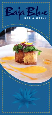 Enjoy a wonderful meal and cocktail at Baja Blue, San Jose Del Cabo.
