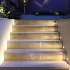Led Step Lighting Granit Trappe  Patiocourtyardfrontbackyardolivia  Pinterest
