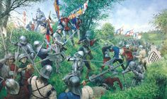 Wars of the Roses;The Battle of Tewkesbury, which took place on 4 May 1471.The forces loyal to the House of Lancaster were defeated by those of the House of York under their monarch, King Edward IV. The Lancastrian heir to the throne, Edward, Prince of Wales, and many prominent Lancastrian nobles were killed . The Lancastrian king, Henry VI, who was a prisoner in the Tower of London, died or was murdered shortly after the battle.