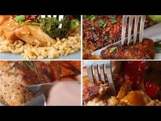 6 One-Pan Chicken Dinners - YouTube