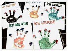 Piraten Party Einladung 5. Geburtstag mit Wasserfarbe, watercolour invitation card 5th birthday pirate theme