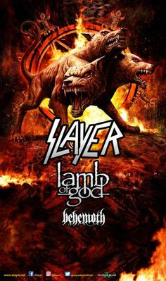LAMB OF GOD to Support SLAYER on 2017 Summer Tour, Also Featuring BEHEMOTH – LAMB OF GOD to Support SLAYER on 2017 Summer Tour, Also Featuring BEHEMOTH Beginning July 12, 2017 in Bemidji, MN www.lamb-of-god.com Internationally-renowned heavy rock leaders LAMB OF GOD will support headlining metal legends Slayer, along with fellow supporting death metal group... #behemoth #lambofgod #slayer