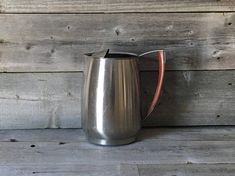 Sold! Vintage West Bend 2 1/2 quart stainless steel water pitcher