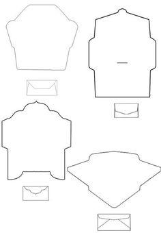 Как быстро сделать конверт из оригами - Оригами:
